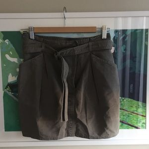 Acne Jeans Mini Skirt